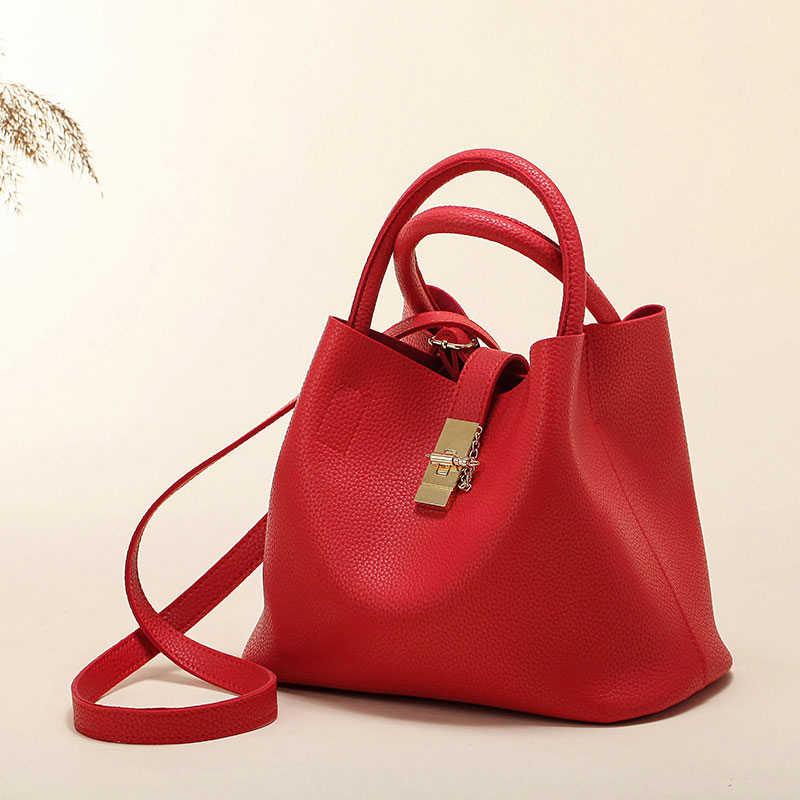 LAN LOU 2019 nouveau femmes sac à bandoulière sacs célèbre marque bonbons sacs à main femme femme sac dames bandoulière seaux Messenger sacs