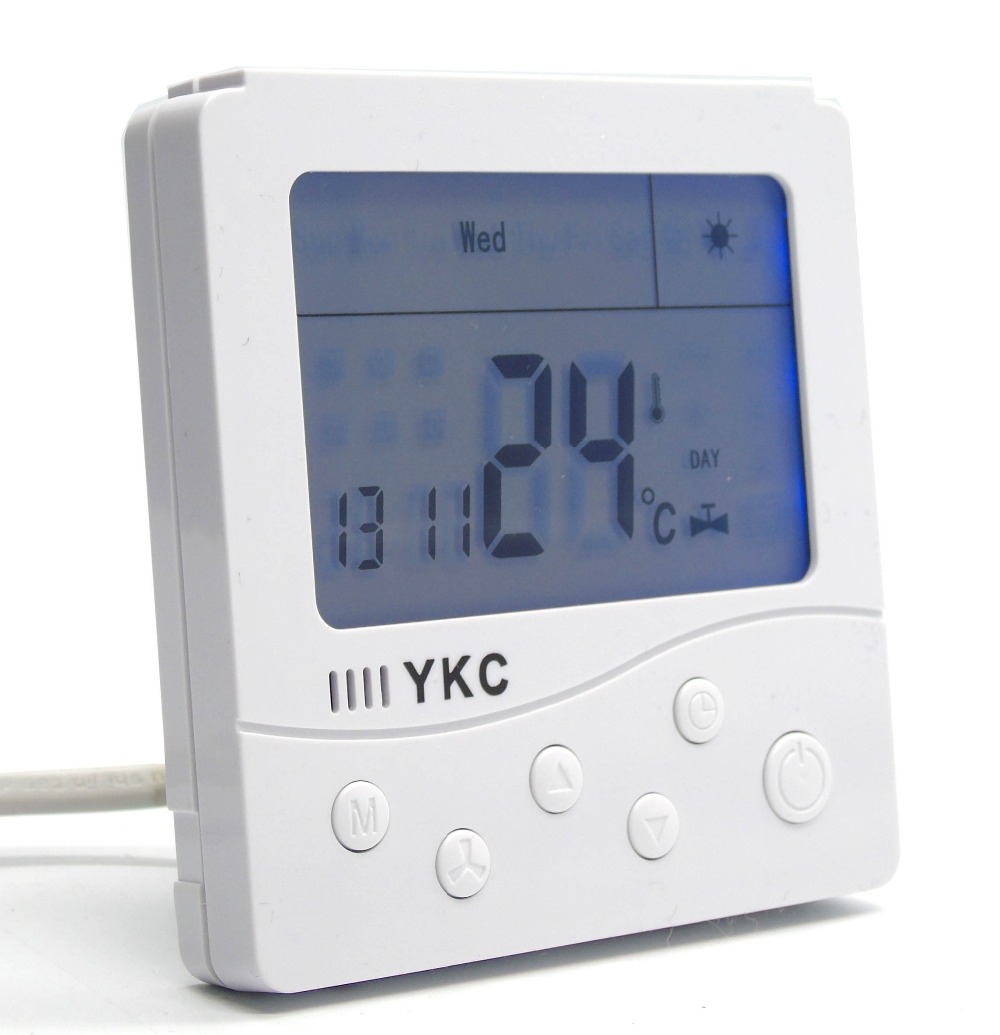 7 day programmable boiler thermostat with gas switch 7 24h programmable adjustable thermostat temperature control switch with child lock