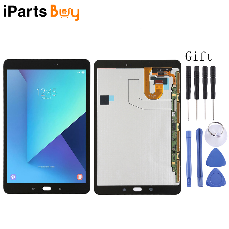 iPartsBuy LCD Screen and Digitizer Full Assembly for Samsung Galaxy Tab S3 9.7 T820 / T825iPartsBuy LCD Screen and Digitizer Full Assembly for Samsung Galaxy Tab S3 9.7 T820 / T825