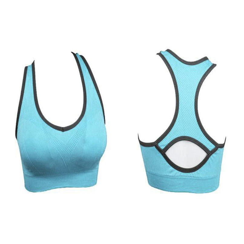 Womens Sports Tops 2018 Athletic Sports Bra Push Up Sports Brassiere fitness women leggings Running Padded Fitness Top Vest #2S2 (7)