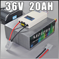 36V 20Ah LiFePO4 Battery Pack 1000W Electric Bicycle Battery + BMS Charger 36v lithium scooter electric bike battery pack