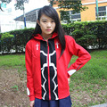 Fate Stay Night Coat men women Clothing thicken Hoodie red sportswear tracksuits costume suit / Sweatshirt