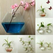 Подвесная стеклянная ваза цветочный горшок Террариум контейнер домашний садовый декор