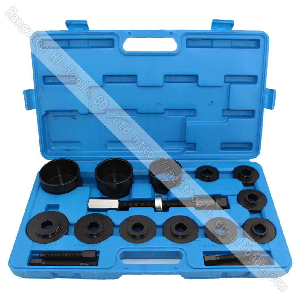 19pcs Master Set Front Wheel Hub Drive Bearing Removal Install Service Tool Kit 10pc bearing race seal driver tool master set with storage case wheel axle new