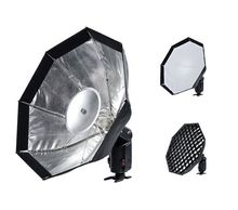 Godox ad-s7 multifuncional suave caja octogonal paraguas softbox rejilla tipo panal para witstro flash speedlite ad180/ad360