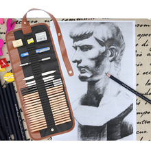art supplies sketch suit Art painting Charcoal Earser Knife Drawing Pencil case Sketch Painting Canvas Pencil Set for Kid
