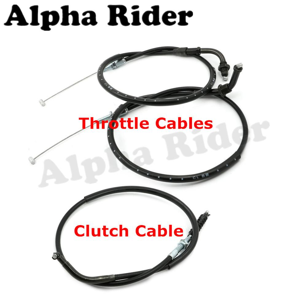 Motorcycle Racers Throttle/Clutch Cables Rope Brake Oil Accelerator Control Wire Line for Honda CBR 250 CBR250 NC22 Racing Bikes motorcycle clutch cable rope throttle brake oil accelerator control wire line for kawasaki ninja 250 r ex250 08 12 11 10 09