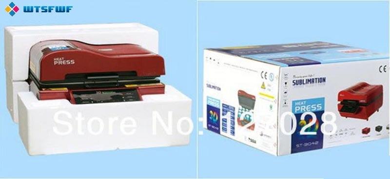 Freeshipping wtsfwf a3 ST 3042 3d sublimação impressora da imprensa de calor máquina da imprensa do calor para casos canecas placas vidros cerâmica madeira - 5