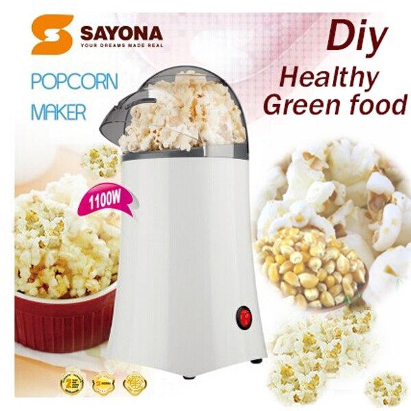 Hot White Small Tube Home Popcorn Machine, Mini Popcorn Machine, Popcorn At  Home Easily