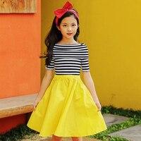 little girls summer dresses kids princess dress 2019 big girls clothes children girl dress size for 45 6 7 8 9 10 12 14 15 years