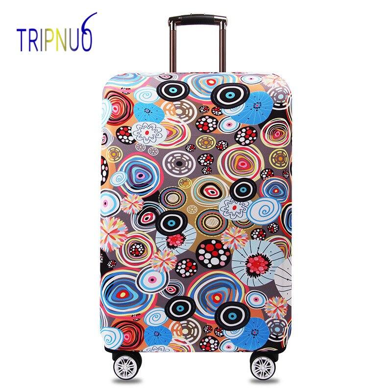 d73d62044 TRIPNUO tejido elástico ilustración equipaje cubierta protectora ...