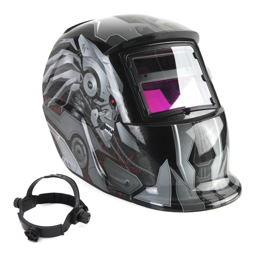 Solar Auto Darkening Welding Helmet TIG MIG MAG MMA Weld Welder Lens Grinding Mask/Electric welding mask/welder cap km 1600 welding mask arc tig mig weld solar auto darkening helmet