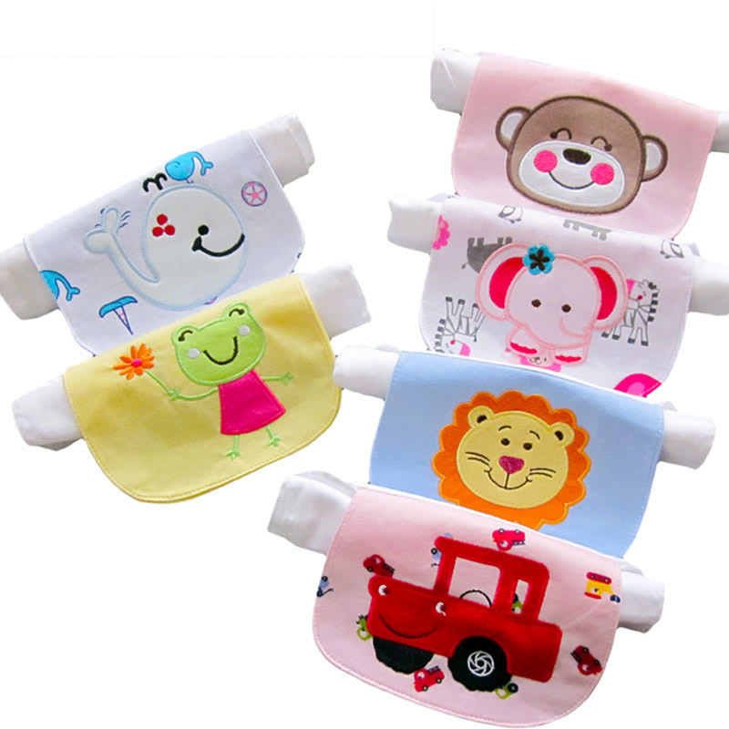 Baby sweat towel four layers three-dimensional cartoon embroidery cotton towel 0-10 years old child bath stuff kids poncho towel