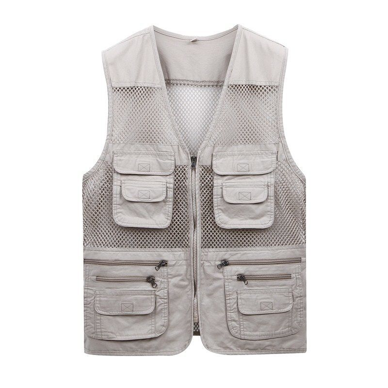 More Than 2020 Vest Pocket Man Thin Mesh Vest In Summer