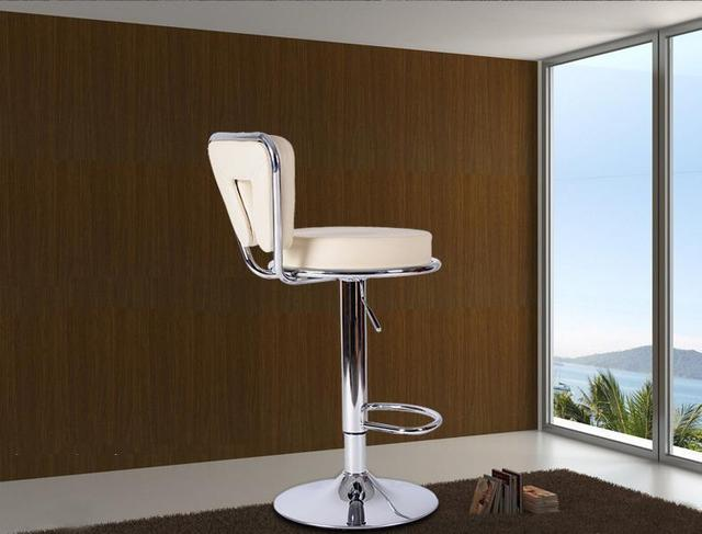 Blanc couleur chaises salon salle à manger rotation tabouret noir ...