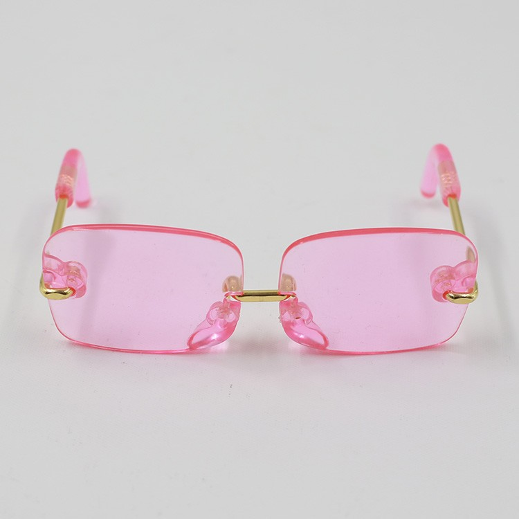 Neo Blythe Doll Heart & Boxes Shaped Glasses 7