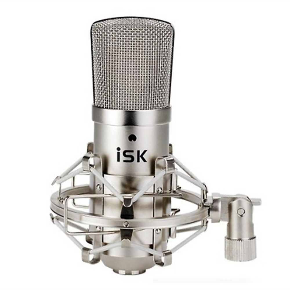 Original ISK BM-800 Studio Condenser Microphone Professional Recording Mike music create broadcast capacitor microphone image
