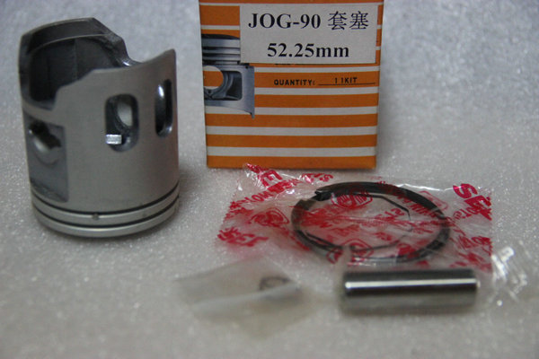 JOG90 modified 52.25mm piston & Ring Set (12mm pin) for yamaha 90cc 2 stroke scooter Minarelli JOG90 4DM keoghs real adelin 260mm floating brake disc high quality for yamaha scooter cygnus modify