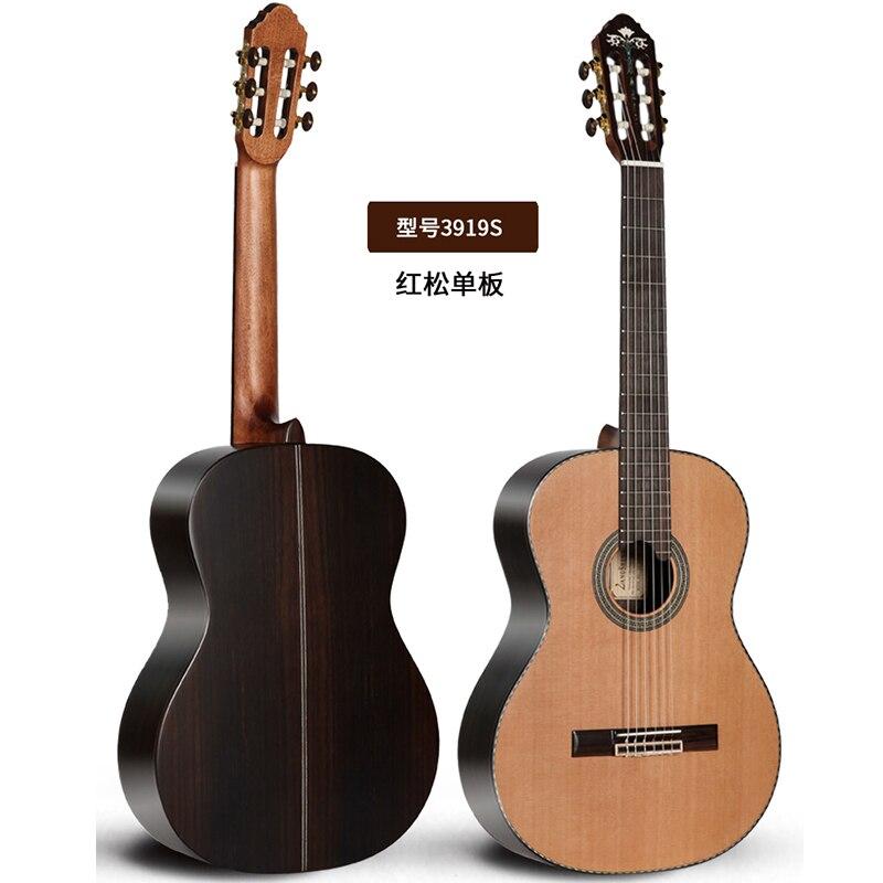 Main Long Visage Unique Main 39 pouce Unique Conseil Cordes Guitare Classique Guitare Et Mâle Et Femelle Instruments de Musique