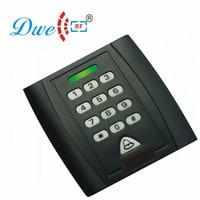 DWE CC RF czytnik kart RFID podświetlenie 125 khz emid wiegand 26 wodoodporna klawiatura czytnik kart do kontroli dostępu 002I w Czytniki kart kontrolnych od Bezpieczeństwo i ochrona na