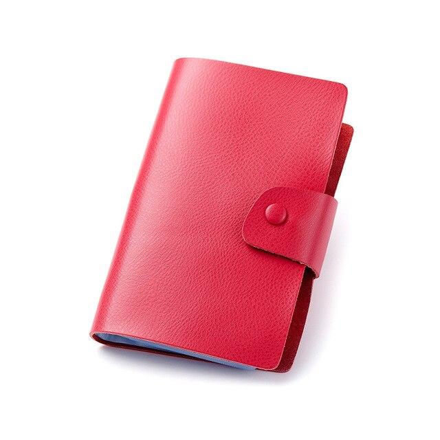 2018 hasp rivets wallet business card holder men women cow genuine 2018 hasp rivets wallet business card holder men women cow genuine leather card organizer purse bag colourmoves