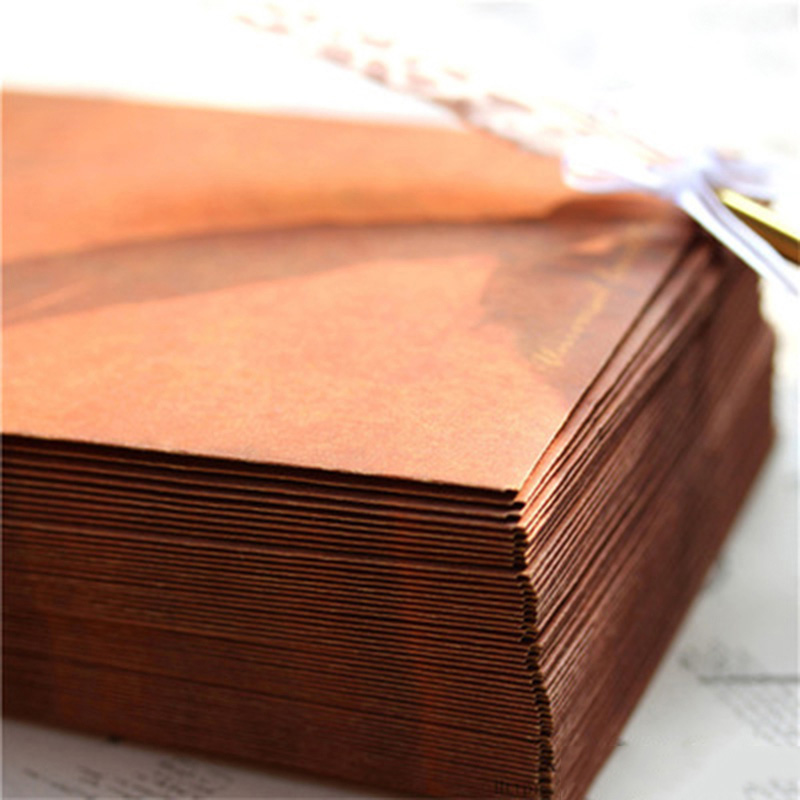 Coloffice Vintage envelope 50PCS/lot creative kraft paper envelopes DIY Decorative Envelope Small Paper school office supplies