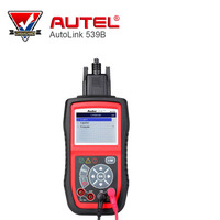 Autel Electric Test OBDII CAN Diagnostic Scanner AutoLink AL539B with AVO Meter Diagnose battery charging system Battery Test