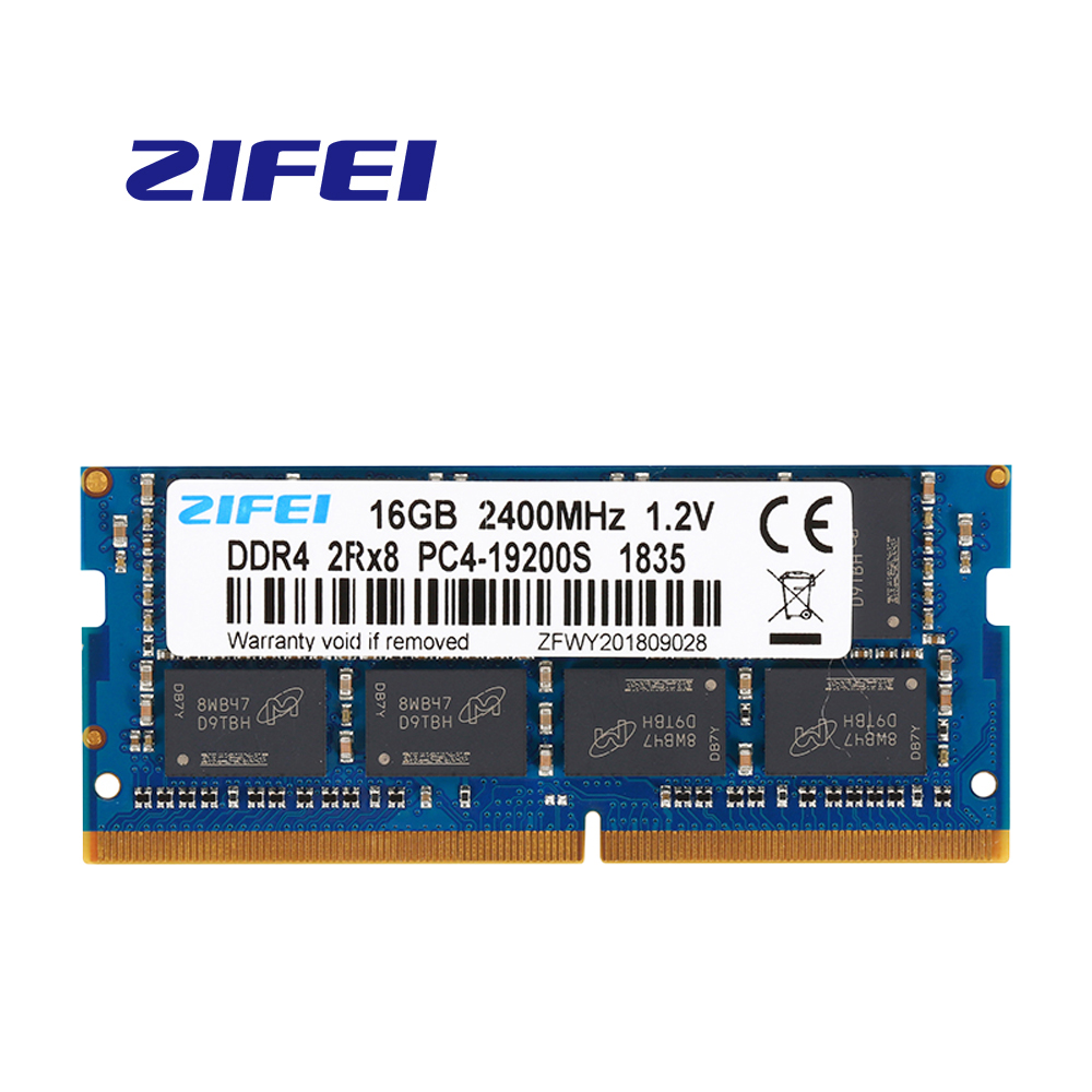 ZiFei <font><b>ram</b></font> <font><b>DDR4</b></font> 4GB <font><b>8GB</b></font> 16GB 2133MHz <font><b>2400MHz</b></font> 2666MHz 260Pin SO-DIMM module Notebook memory for Laptop image