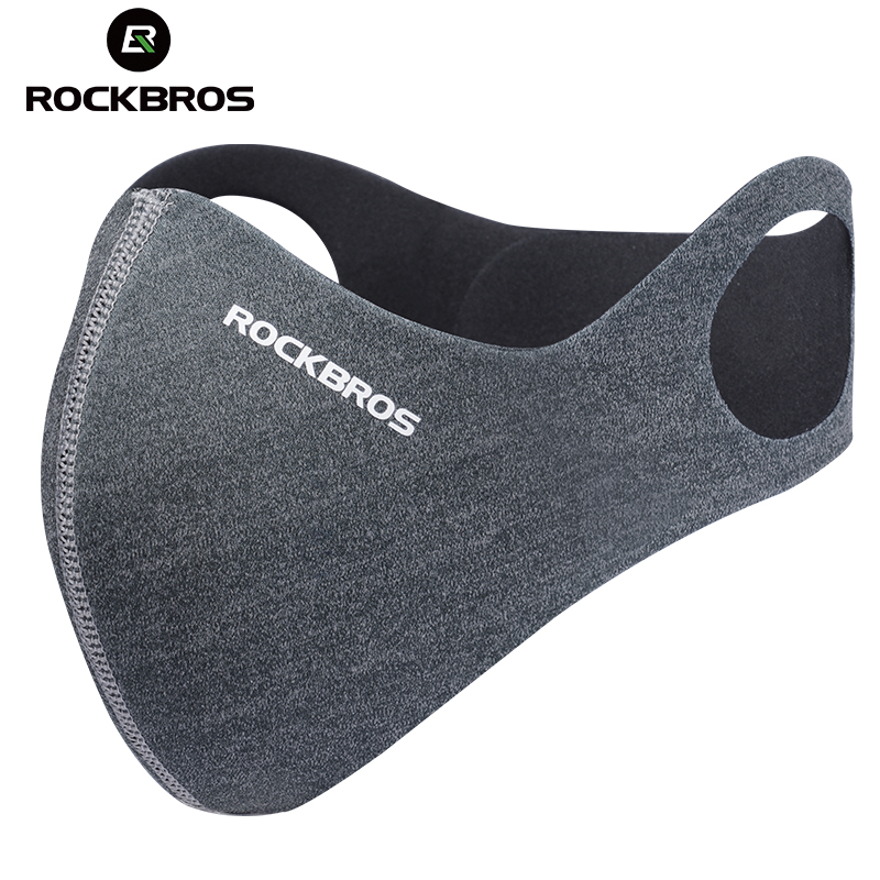 ROCKBROS Anti-dust Cycling Face Mask Cover For Running Bike Bicycle Breathable PM 2.5 Protection Mouth-Muffle Ski Mask 5 Filter