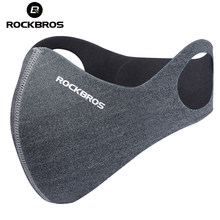 ROCKBROS Anti-dust Cycling Face Mask Cover For Running Bike Bicycle Breathable PM 2.5 Protection Mouth-Muffle Ski Mask 5 Filter(China)
