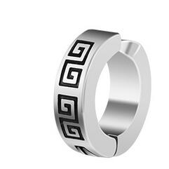 wholesale 2PCS>1Pair Jewelry for women Men Earring No pierced ears temperament titanium earrings jewelry female