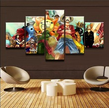One Piece Characters HD Poster Canvas Painting Wall Art