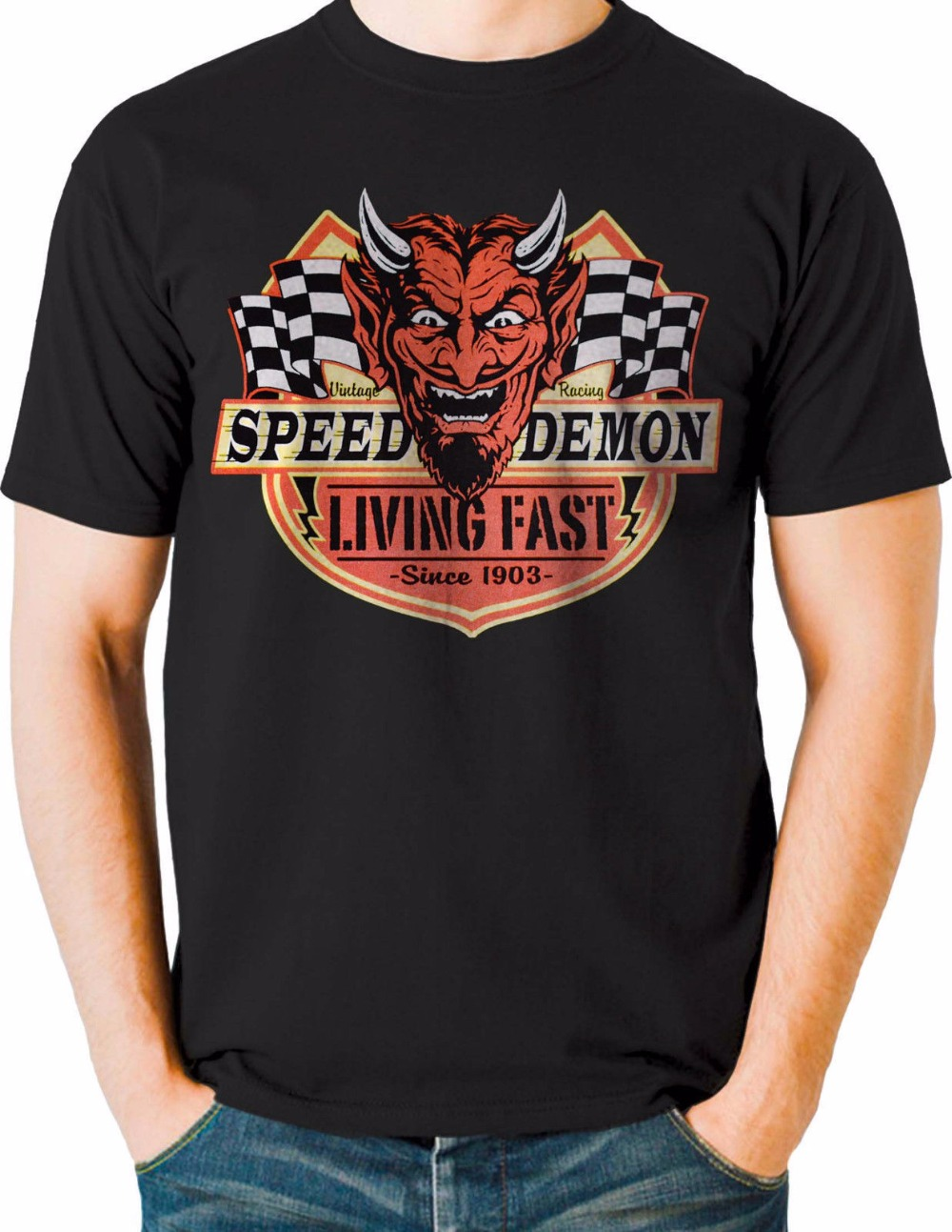 2018 summer t shirt custom any logo t shirt rockabilly for Custom t shirts fast
