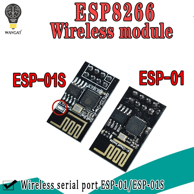 ESP-01 Upgraded Version ESP-01S ESP8266 Serial WIFI Model Authenticity Guaranteed Internet Of Thing Wifi Model Board For Arduino