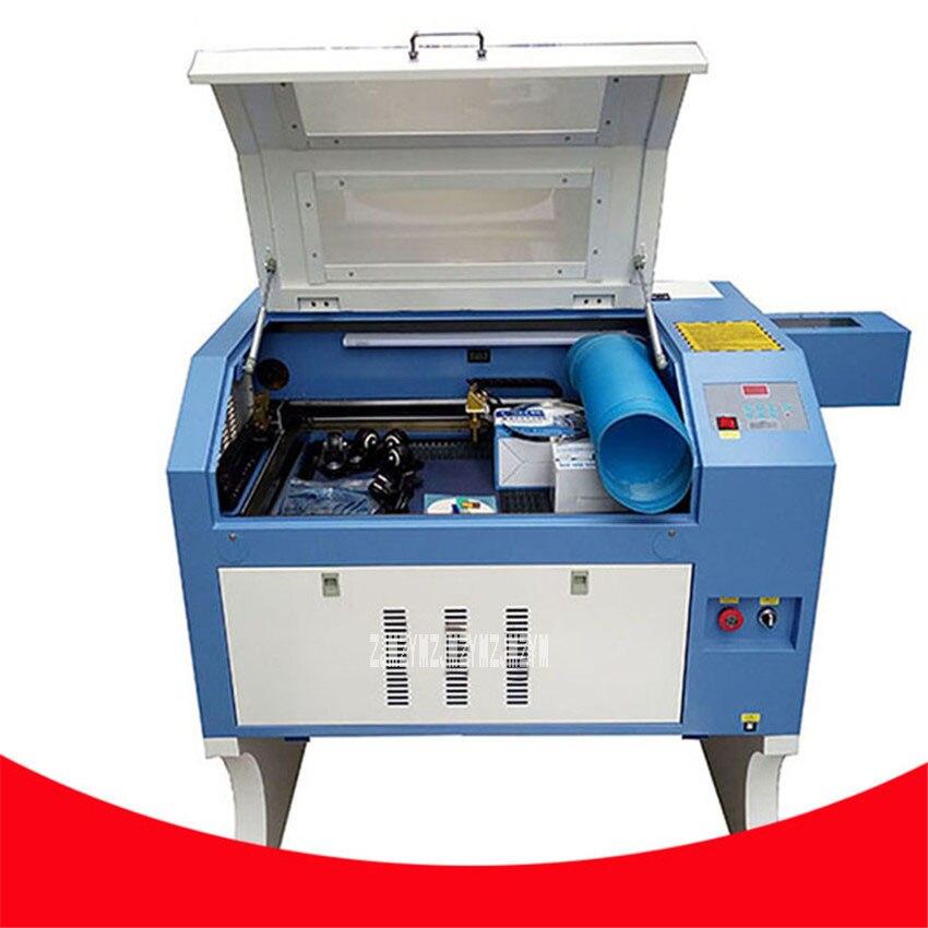 Nouveauté TS4060 80 W Co2 Laser Machine de gravure bricolage Laser Cutter Machine de marquage AC110v/220 v 50-60Hz 0-24000 mm/min 600*40mm