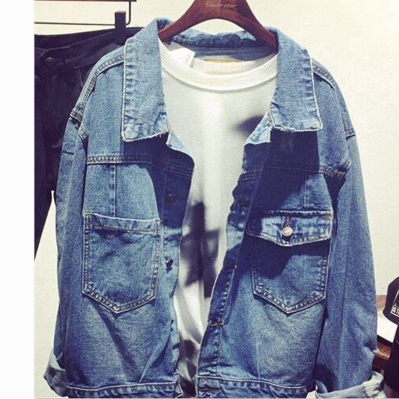 Youpop Kpop BIGBANG G-Dragon GD TOP MADE Album Denim Jacket K-POP Casual Jeans Coat 2017 New Fashion Design For OutWear JK006