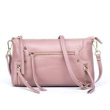 Elegant Fashion Female Bag Europe and America Women Handbag High Quality PU Leather Women's Messenger Shoulder Bags  LJ-0736 цена