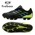 TIEBAO Professional Mens Soccer Shoes FG & HG Soles Boots Football Cleats Outdoor Sneakers Size 36-43 Chuteira Futebol