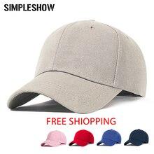 SIMPLESHOW Venta caliente ajustable gorra de algodón hombres y mujeres  Multicolor de cola de caballo de 124a7aa56ed