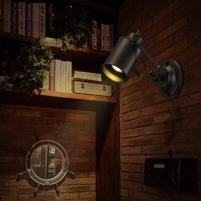 Simple Iron Modern Wall Sconces Creative LED Wall Light Fixtures For Home Lighting Bedside Wall Lamp Indoor Lighting simple modern led wall lamp reading switch adjust wall light fixtures home fabric shade bedside wall sconce indoor lighting