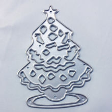 PANFELOU Easter Christmas tree Scrapbooking DIY album cards paper die metal craft stencils punch cuts dies cutting(China)