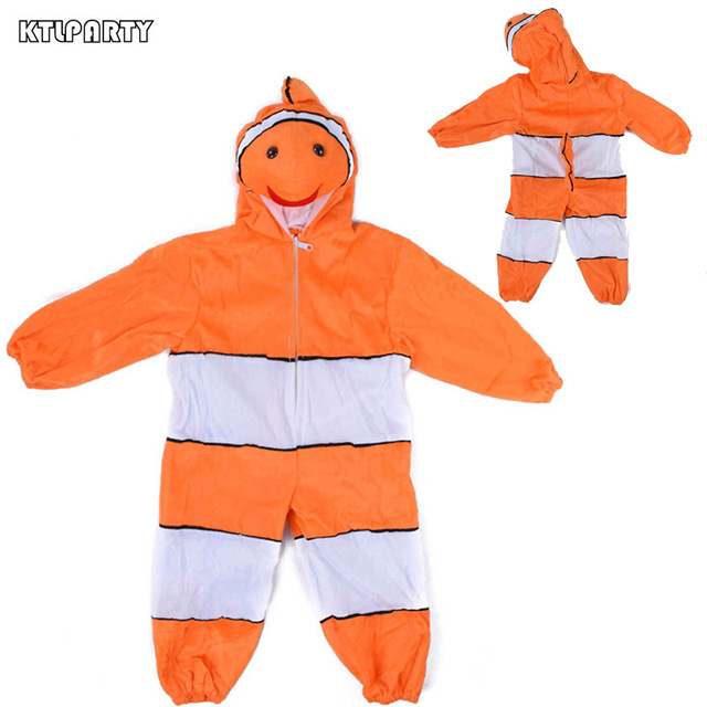 Ktlparty Kids Clown Fish Costume Cartoon Character Nemo Cosplay