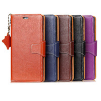 Luxury First Layer Real Cowhide Case For IPhone X Genuine Leather Flip Wallet Stand Case For