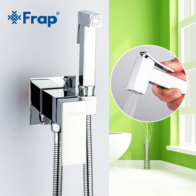 Frap Bidet Faucet Brass Shower Tap Washer Mixer Muslim Ducha Higienica Cold Hot Water Mixer Crane