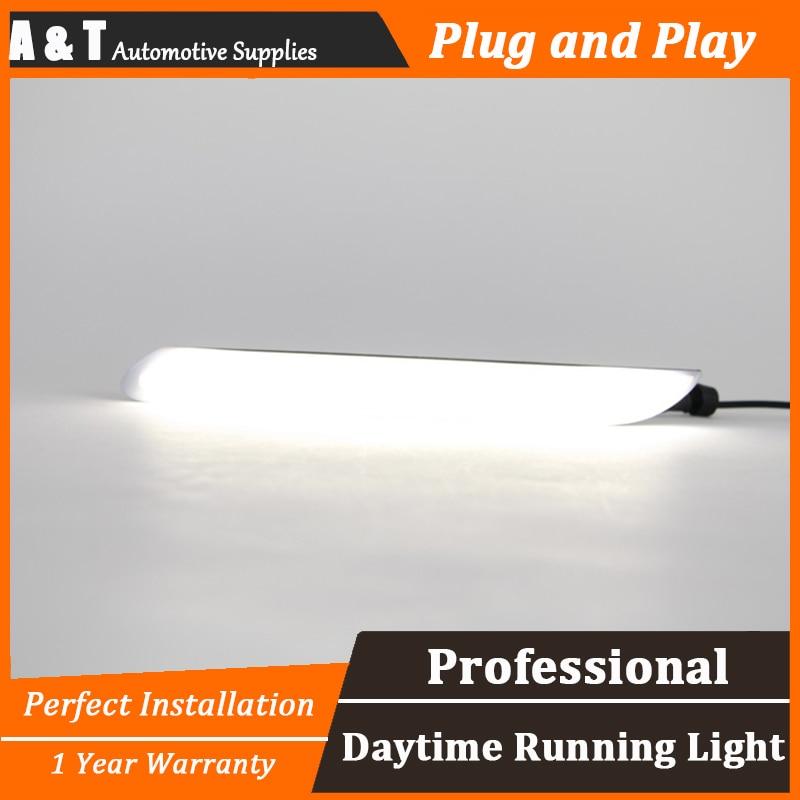 стайлинга автомобилей СИД DRL для peugeo 408 за 408 светодиодные фары дневного света руководство высокая яркость СИД DRL