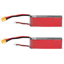 2x 3S 25C 11.1V 2200mAh Lipo Battery Pack For Walkera E22 RC Helicopter Car XT60