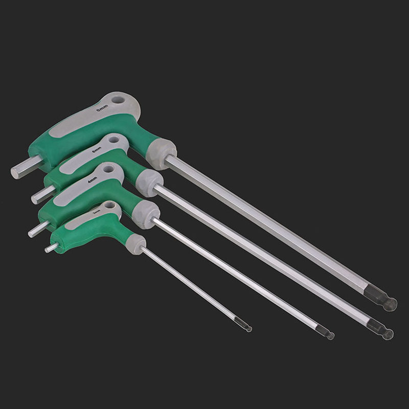 1PCS-2/2.5/3-10 BRT T-shaped Hex Wrench with Handle, 7-type Hexagonal Screwdriver, Hex Key, Chrome Vanadium Steel CR-V цена 2017