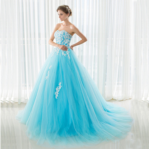 Favordear 2018 Turquoise Quinceanera 15 Years Vestidos De 15 Anos Sweetheart Quinceanera Gowns Party Dress Hot Sale(China)