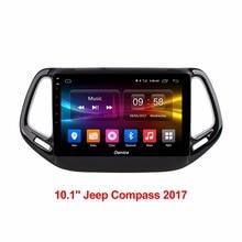 Android автомобиля компьютер gps навигатор Аудио автомобилей Радио DVD Мультимедиа Видео плеер для Jeep Compass 2017 CanBus включены DAB PC