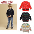 Baby Boys Cardigan Sweater 2016 Spring New Fashion Children Knitwear Boys Sweaters Jacket Child Casual Kids Clothes Age 2-6 T